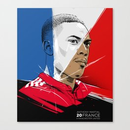 ANTHONY MARTIAL Canvas Print