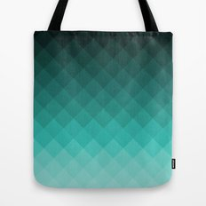 Ombre squares Tote Bag