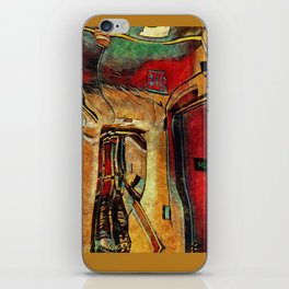 coridors and expanses iPhone Skin