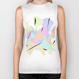 Abstract graphic design Biker Tank