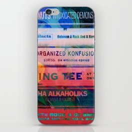 Old School Hip Hop tapes 551 iPhone Skin