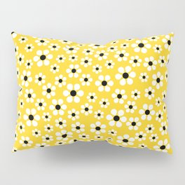 Dizzy Daisies - Yellow - more colors Pillow Sham
