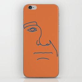 Bill Murray - Steve Zissou palette iPhone Skin