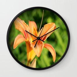 Sunny Lily Wall Clock