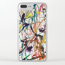 Having Fun Clear iPhone Case