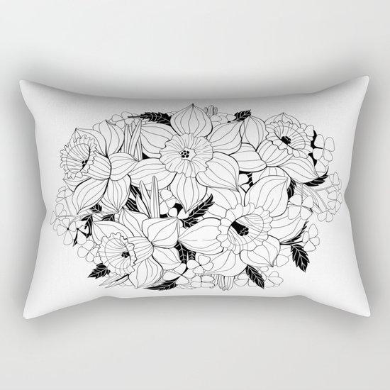 Daffodil bouquet Rectangular Pillow