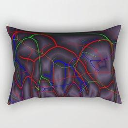 Mysteriously ways of life Rectangular Pillow