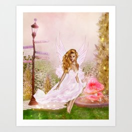 Pink Opal Art Print
