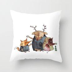 Konbae Throw Pillow
