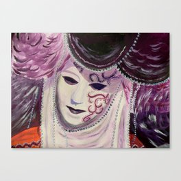 Venitian Mask Canvas Print