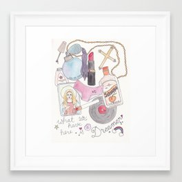 What We Have Here is a Dreamer Framed Art Print