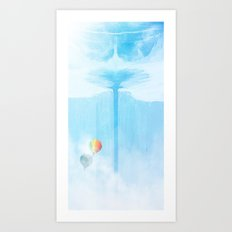 Up and away Art Print