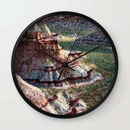 Painted Deserts of Arizona Wall Clock
