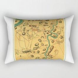 Antietam Sharpsburg and Vicinity (1865) Rectangular Pillow