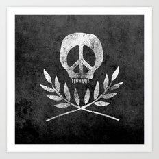Peace is Death Art Print