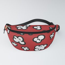 Red Pop Corn Fanny Pack