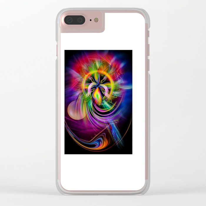 Abstract Perfection 60 Clear iPhone Case