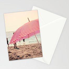 Summer Beach Umbrella Stationery Cards