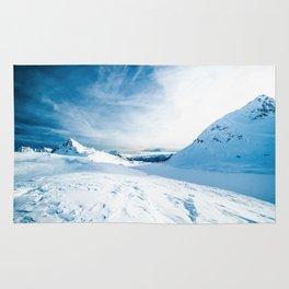 Mountain ice 2 Rug
