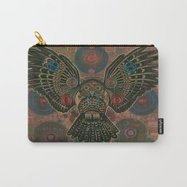 """""""Bronze Owl"""" copyright Ray Stephenson 2013 Carry-All Pouch"""