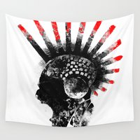 cyberpunk Wall Tapestries featuring cyberpunk by rope