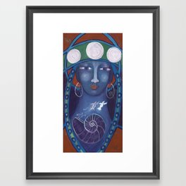 Our Lady of Transformation Framed Art Print