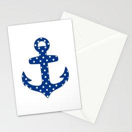Levando Anclas Azul Stationery Cards