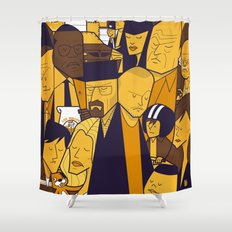 Breaking Bad (yellow version) Shower Curtain