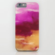 Cherry Rose Painted Clouds iPhone 6s Slim Case
