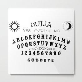 Ouiji board Metal Print