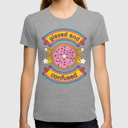 Glazed And Confused Donut T-shirt