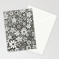 Flower Frenzy Stationery Cards