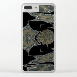 Solemn Ballroom 3 Clear iPhone Case