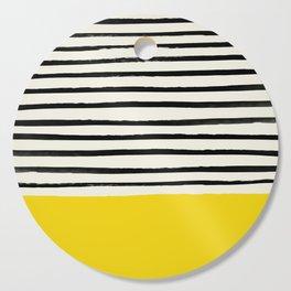 Sunshine x Stripes Cutting Board