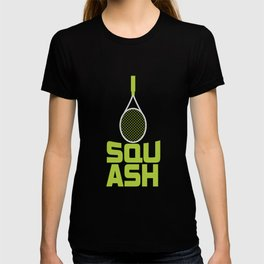 Squash Racket | Sport Ball Sports T-shirt
