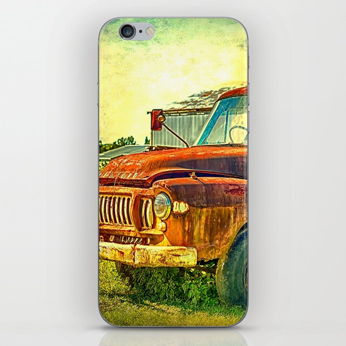 Old Rusty Bedford Truck iPhone Skin