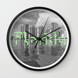 Mainline Florida Wall Clock