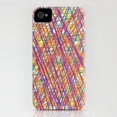 Scribble Crazy iPhone (4, 4s) Slim Case