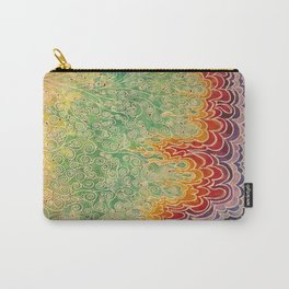 Vines and Flames Carry-All Pouch