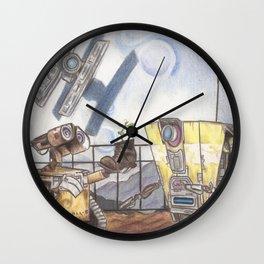 WALL-E & CL4P-TP Wall Clock