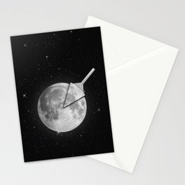 Moon Slice Stationery Cards