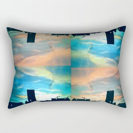Ocean in the Sky Rectangular Pillow