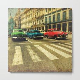 Cuban drive Metal Print