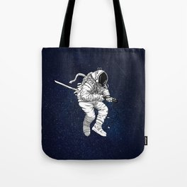 Space Samurai Tote Bag