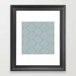 Dusk Blue Framed Art Print