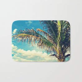 Breezy Beach Palm Bath Mat