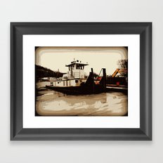 Tugboat II  Framed Art Print
