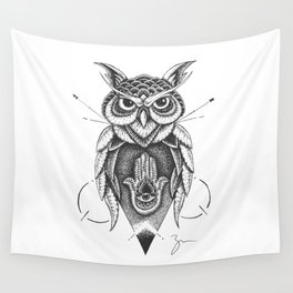 Dotowl Wall Tapestry