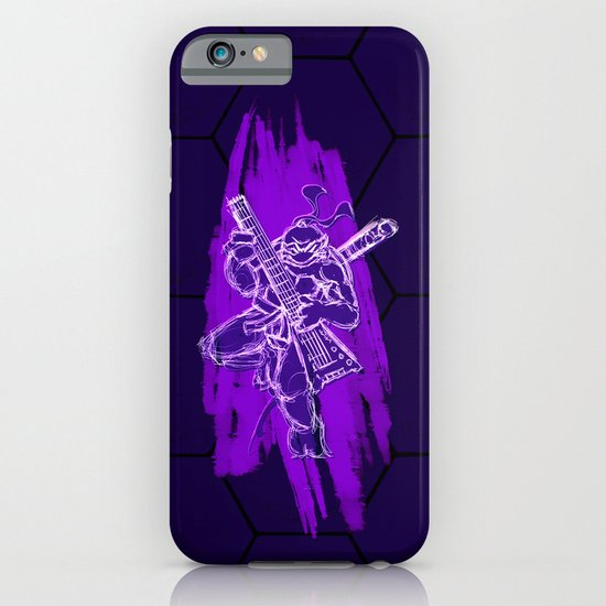 TMNT Rock: Don iPhone & iPod Case