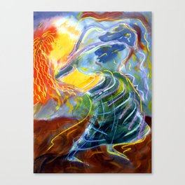 The Long Sleeved Dancer Canvas Print